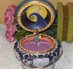Disney Nightmare Before Christmas Sally Music/jewelry Box 2004 Oop Retired Nib
