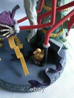 Disney Nightmare Before Christmas Santa Jack Snow Globe Ornament with Stand