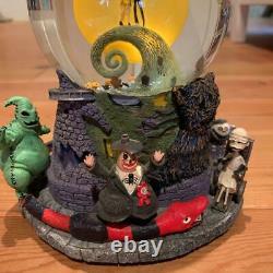 Disney Nightmare Before Christmas Snow Globe very rare from japan