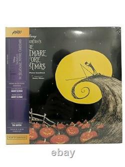 Disney Nightmare Before Christmas Soundtrack 2 Color Vinyl LP Mondo NEW