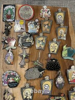Disney Nightmare Before Christmas pin lot 33 pins