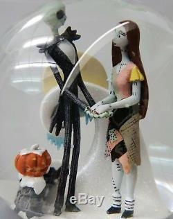 Disney Nightmare before Christmas Jack Sally Zero Schneekugel Kugel Spieluhr