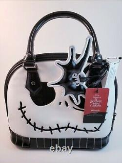 Disney Nightmare before Christmas Jack Skellington Face mini dome bag Loungefly