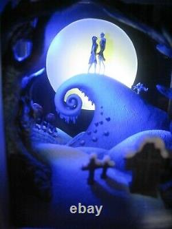 Disney Olszewski Gallery Of Light Nightmare Before Christmas Lot Of 2
