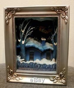Disney Olszewski Nightmare Before Christmas Santa Jack Gallery of Light Box Rare