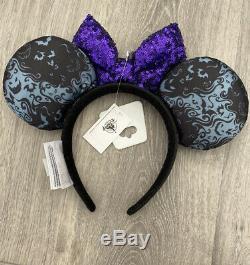 Disney Park Nightmare Before Christmas Oogie Boogie Bash 2019 Halloween Ears NWT