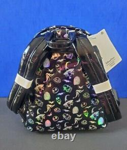 Disney Parks Nightmare Before Christmas Holographic Loungefly Mini Backpack