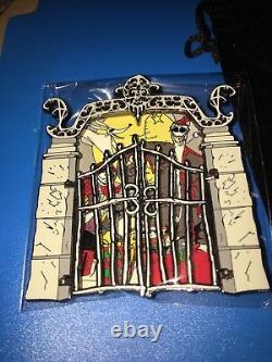 Disney Pin Nightmare Before Christmas DSF RARE JUMBO Cemetery Gate NBC LE 300