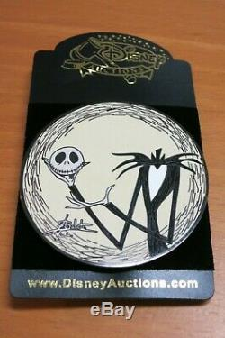 Disney Pin Nightmare Before Christmas Jack Skellington Gomes LE 100