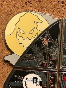 Disney Season Advent Calendar 2019 Pin Set Nightmare Before Christmas LE 1200