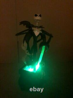 Disney Store Nightmare Before Christmas Big Fig Jack Light Up Statue