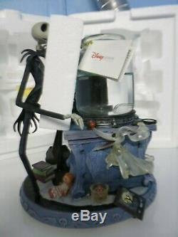 Disney Store Nightmare Before Christmas Jack Science Project Snow Water Globe