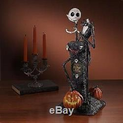 Disney Store Nightmare Before Christmas Light Up Jack Statue-new