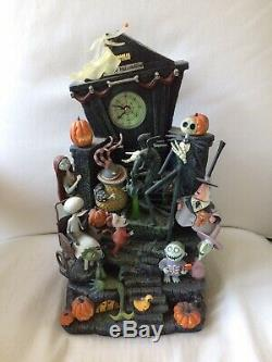 Disney Store The Nightmare Before Christmas Halloween Town Clock Tower