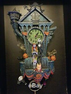 Disney The Nightmare Before Christmas Cuckoo Wall Clock Great working condition
