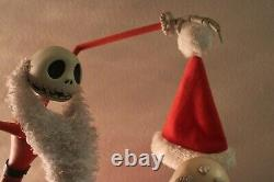Disney The Nightmare Before Christmas Jack Skellington With Sandy Claws Big Fig