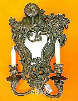 Disney Tim Burton Nightmare Before Christmass Sally Candle Wall Mirror