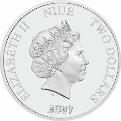 Disney Tim Burton The Nightmare Before Christmas 1 Oz Silver Coin
