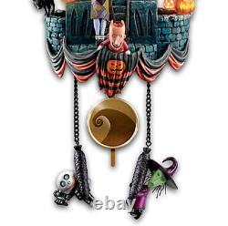 Disney Tim Burtons The Nightmare Before Christmas Cuckoo Clock