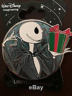 Disney WDI Jack Skellington Hero Profile LE 250 Pin Nightmare Before Christmas