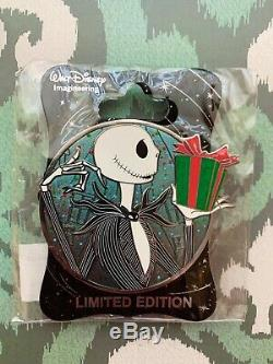 Disney WDI Profile Pin Jack Skellington Hero LE 250 Nightmare Before Christmas