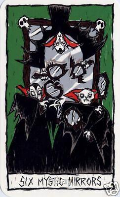 Disney's Nightmare Before Christmas Haunted Mansion Tarot Cards