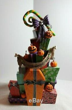 Disney's The Nightmare Before Christmas Holiday Stack of Presents Rare