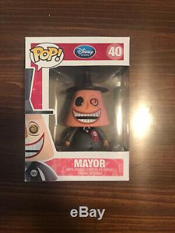 Funko Pop! #40 Mayor Rare, Retired, Vaulted, Disney Nightmare Before Christmas