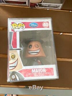 Funko Pop! Disney Mayor from The Nightmare Before Christmas #40 With Popstack