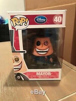 Funko Pop Disney Store Mayor Nightmare Before Christmas Vaulted Rare