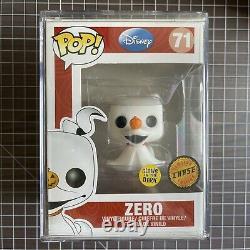 Funko Pop Disney The Nightmare Before Christmas Zero #71 GITD Chase! FREE SHIPP