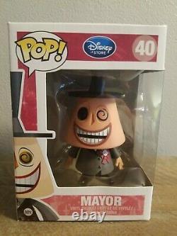 Funko Pop! Mayor 40 Disney Store Nightmare Before Christmas Vaulted Retired Rare