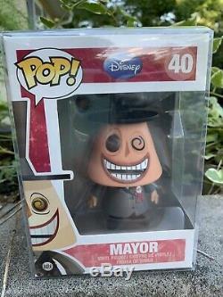 Funko Pop! Mayor #40 The Nightmare Before Christmas GRAIL! Vaulted