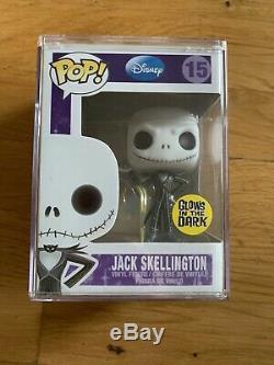 Funko Pop Nightmare Before Christmas Toy Tokyo Exclusive Glow Jack Skellington