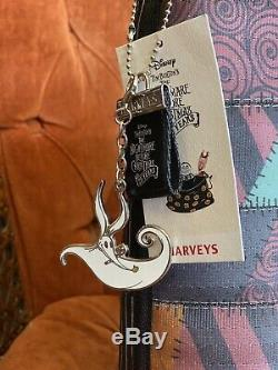 HARVEY'S Nightmare Before Christmas Wanderer Tote Jack & Sally Double Sided