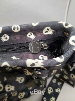 HARVEYS Seatbelt Bag Disney Coture Nightmare Before Christmas Skull L Tote