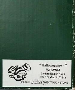 Harmony Kingdom Disney Nightmare Before Christmas Halloweentown Jack Sally LARGE