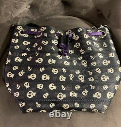 Harveys Nightmare Before Christmas Skulls Park Hopper Backpack Seatbelt Bag