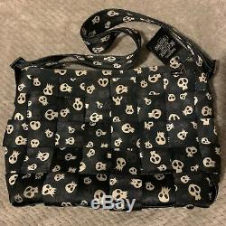 Harveys Seatbelt Bag Nightmare Before Christmas Disney Rare Skull L Tote