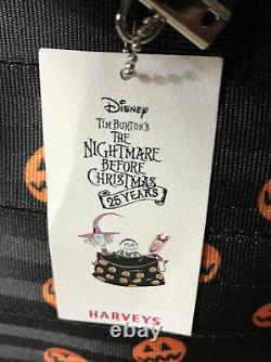 Harveys The Nightmare Before Christmas 25 Years Pumpkin Seatbelt Purse NWT
