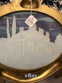 Haunted Mansion Nightmare Before Christmas Stained Glass Wall Art Plaque Disney