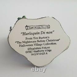 Hawthorne Disney Tim Burton Nightmare Before Christmas Village SLIME FACTORY'07