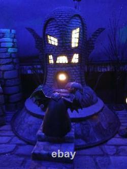 Hawthorne Village Nightmare Before Christmas Bat House And Vampire
