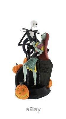 Jack Skellington & Sally Nightmare Before Christmas Figure Disney Parks