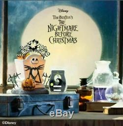 Jack Skellington Scentsy Warmer Nightmare Before Christmas Disney with2 Bar NEW
