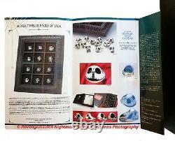 Japan Nightmare Before Christmas 12 Twelve Faces Of Jack Silver Ring Set Framed