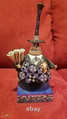 Jim Shore Disney Figurine 4027942 Nightmare Before Christmas The Mayor With Box
