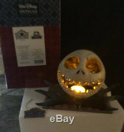 Jim Shore Disney Nightmare Before Christmas Lighted Jack Skellington Halloween