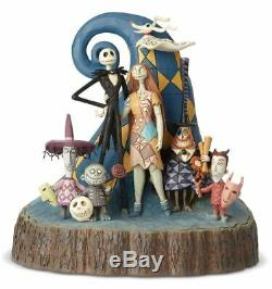 Jim Shore Disney Traditions Nightmare Before Christmas Carved By Heart 6001287