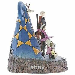 Jim Shore Disney Traditions Nightmare Before Christmas Jack Carved by Heart